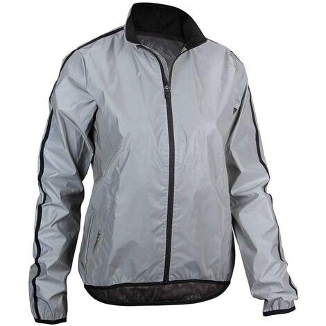 Avento Reflective Running Jacket Women 42 74RB-ZIL-42