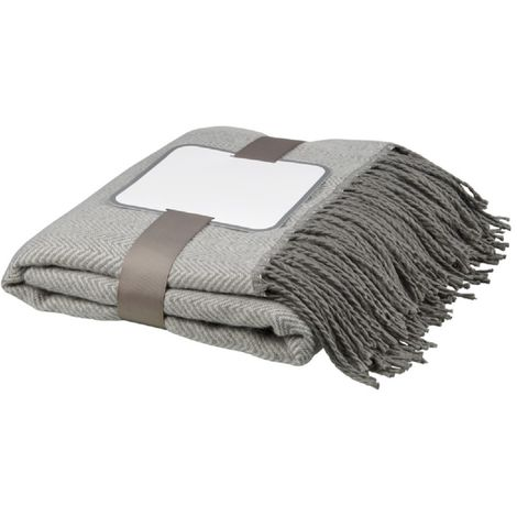 Avenue Haven Herringbone Throw Blanket