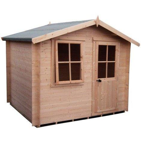 Avesbury Log Cabin Home Office Garden Room Approx 9 x 9 Feet