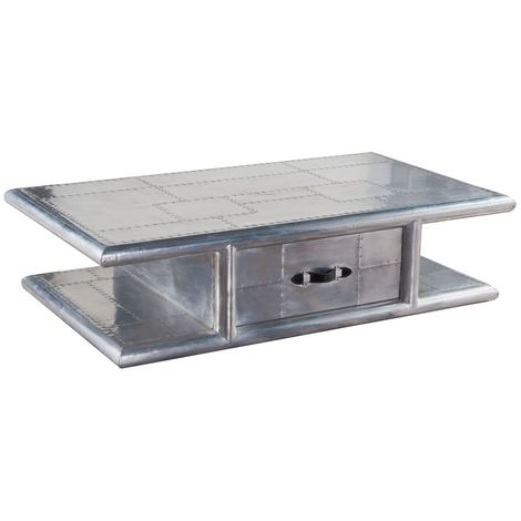 Aviator Aluminium Coffee Table