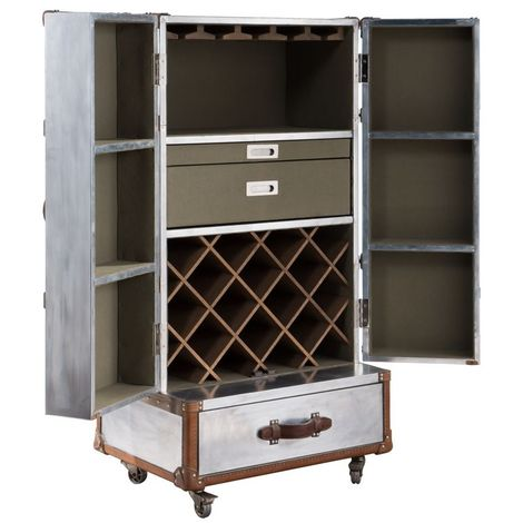 Aviator Aluminium Drinks Cabinet