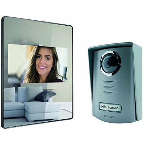 Avidsen 112208 LUTA 2 Interphone vidéo Miroir