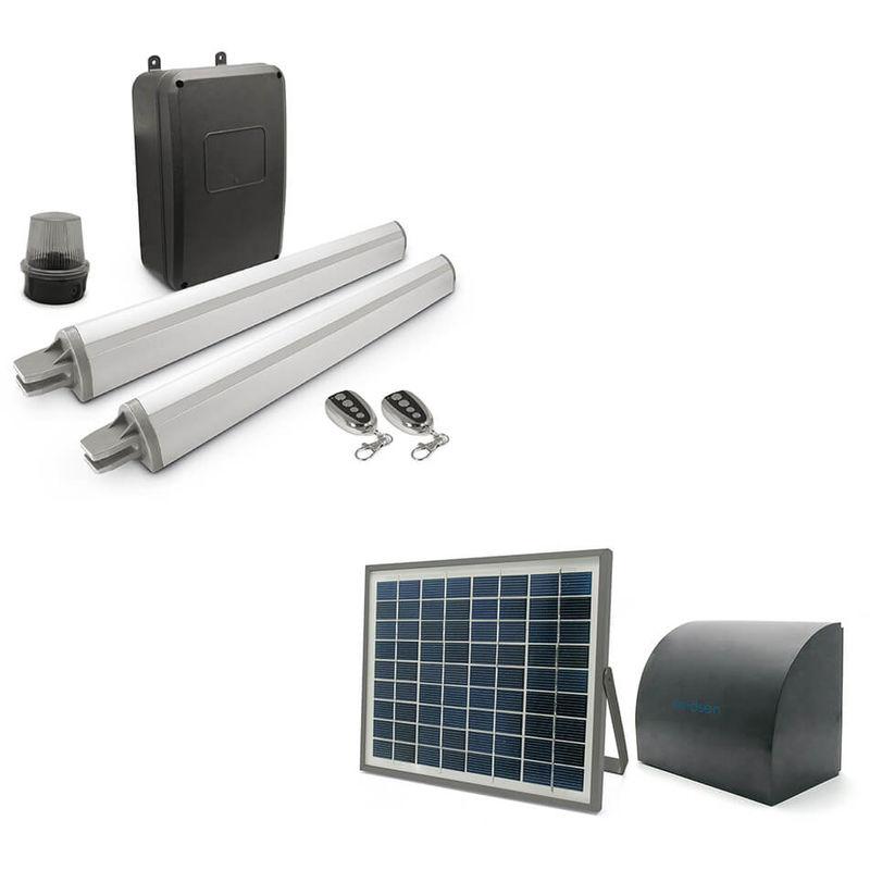 motorisation de portail solaire avidsen