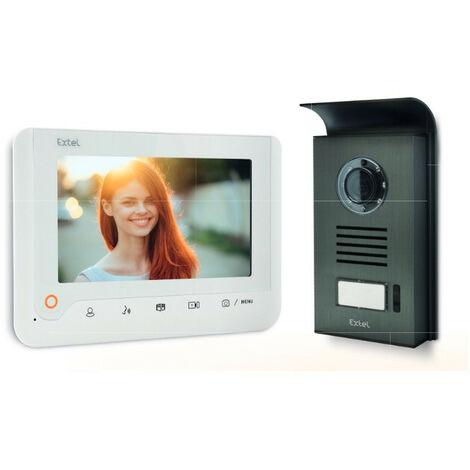 """main image of """"Avidsen - Video portero a color de 2 hilos con pantalla de 7"""" Blanco - NOVA"""""""