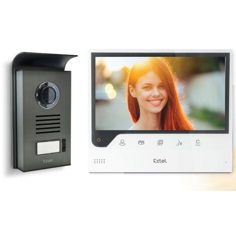 """Avidsen - Video portero con cable conectado a su smartphone con pantalla de 7"""" - EXTEL CONNECT"""