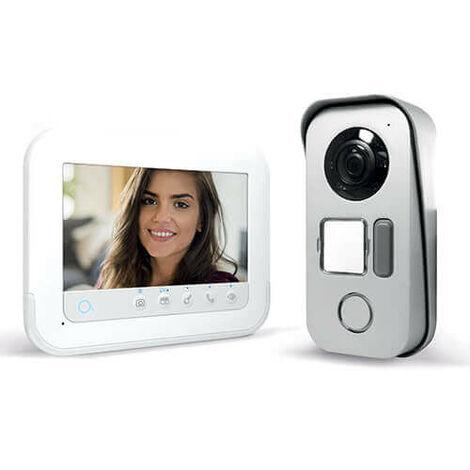 """Avidsen - Videófono con pantalla de 7"""" acceso RFID y visión nocturna - YLVA 3+"""