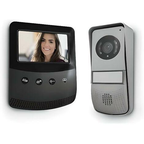 "main image of ""Interphone Vidéo Design ultra plat - Produit Neuf"""