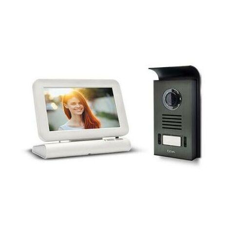 """Avidsen - Visiophone sans fil écran 7"""" avec mémoire passage - LESLI"""