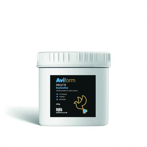 Aviform Prolyte Probiotic & Prebiotic Post Race Restorative Supplement For Racing Pigeons (250g) (May Vary)