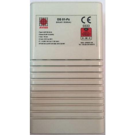 Aviss DS 01-PZ Sound Diffuser fire alarm type A Classe B
