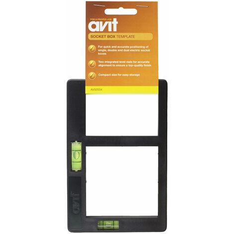 Avit AV02034 Socket Box Template