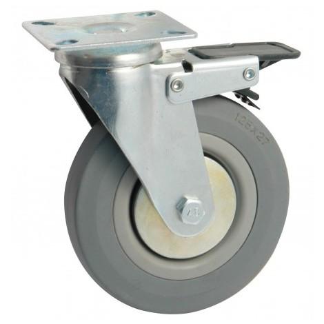 AVL - Roulette PIvotante - Gris - Diam. 50 mm - Max. 50Kgs/u - non tachant