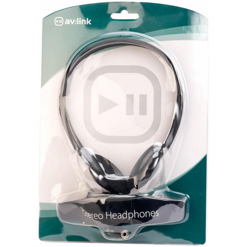 Image of AV:Link 100.439UK SH30 Lightweight Stereo Headphones