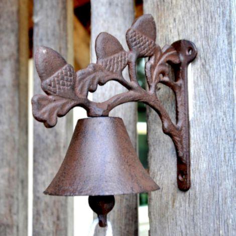 Avocado Stone Cast Iron Acorn Doorbell