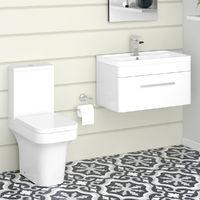 Avola Toilet & Vanity Unit Cloakroom Suite