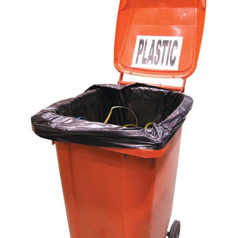 Avon Müllbeutel für fahrbare Mülltonnen schwarz 762 mm x 1270 mm x 1371 mm Fassungsvermögen: 240 L Entsorgung