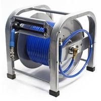 Avvolgitubo automatico ad aria compressa 30 metri 12 bar 12,91 mm
