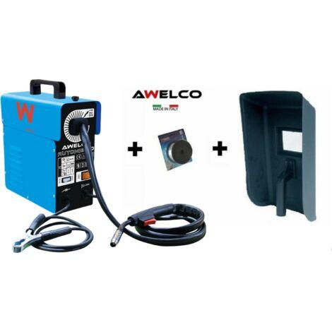 """main image of """"Awelco saldatrice a filo continuo 90ah no gas 230v con accessori modAutomig 130"""""""