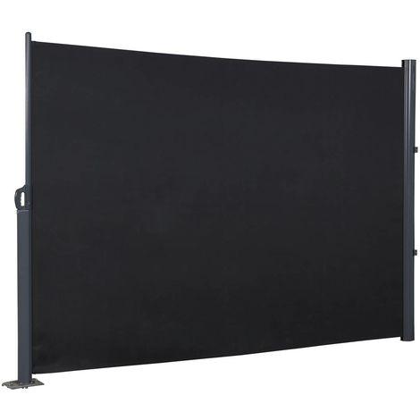 Awning panel luminium and polyester Vento 2 - Dark grey