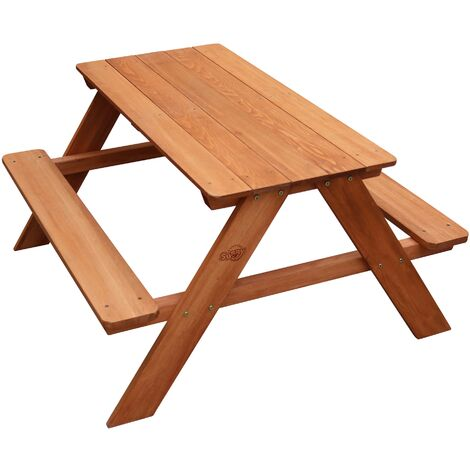 AXI Dave Table pique nique en Bois | Table Enfant pour le jardin