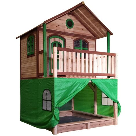 """main image of """"AXI Tent for Playhouse Plastic Green A030.186.00 - Green"""""""