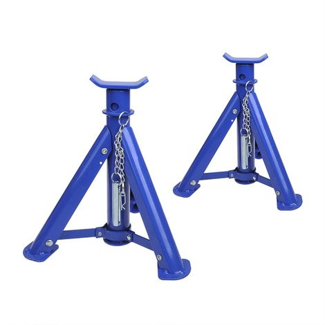 Axle stands 2 ton foldable set of 2 pieces
