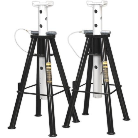 Axle Stands (Pair) 10tonne Capacity per Stand High Level