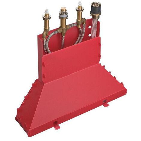 Axor Basic set for 4-hole rim mounted bath mixer (15480180)