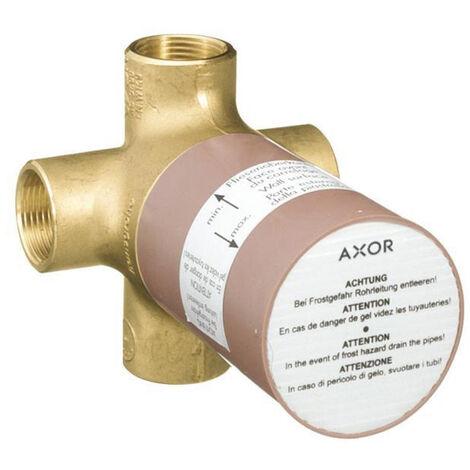 """Axor Basic set for Quattro 3-way diverter valve ¾"""" (16930180)"""