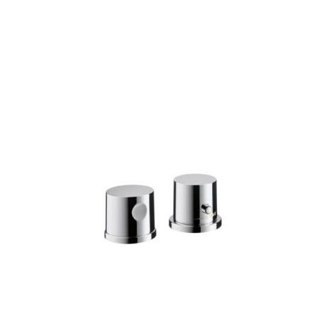 Axor BOUROULLEC 2 hole thermostatic finishing set for bathtub edge mounting (38480000)