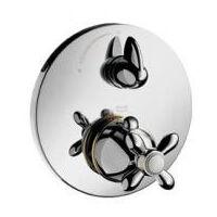 Axor Carlton - Set de finition pour mitigeur thermostatique encastré avec robinet d'arrêt (17705000)