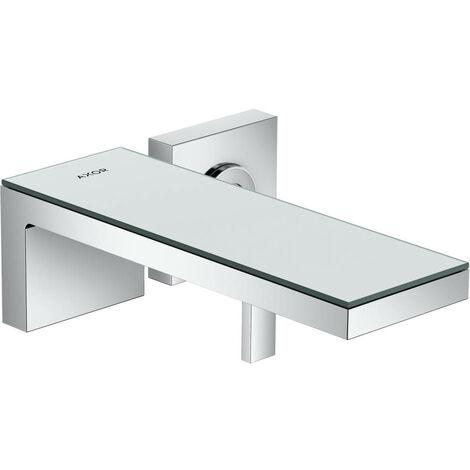 Axor Robinet lavabo à encastrer, chrome / verre noir (47060600)