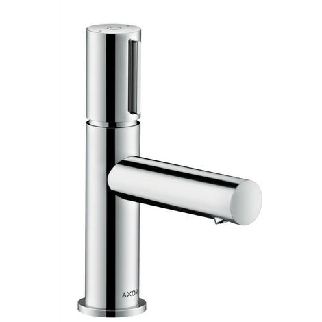 AXOR Uno Select basin mixer 80 without pull-rod, Chrome (45015000)