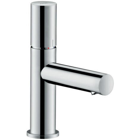 AXOR Uno Single lever basin mixer 80 zero handle without pull-rod, Chrome (45005000)