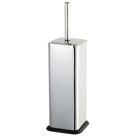Axus Toilet Brush & Holder - Stainless Steel