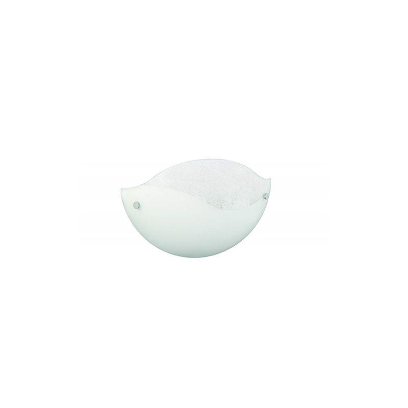 Ayden Ayden - Applique in vetro luce up bottoni alluminio lungh.31 cm
