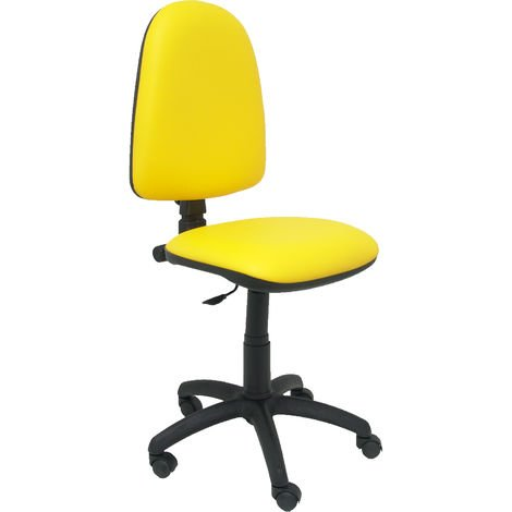 Ayna similpiel chaise jaune
