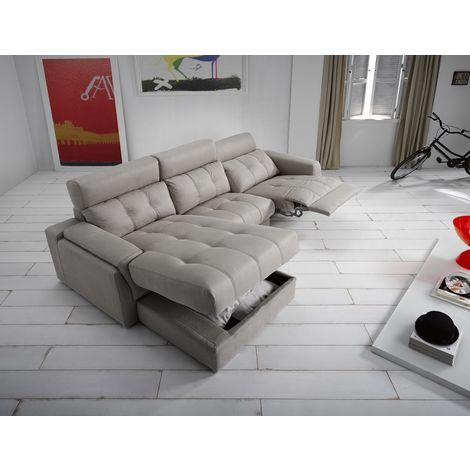 Azahara Reclining Italian Fabric Corner Group Sofa