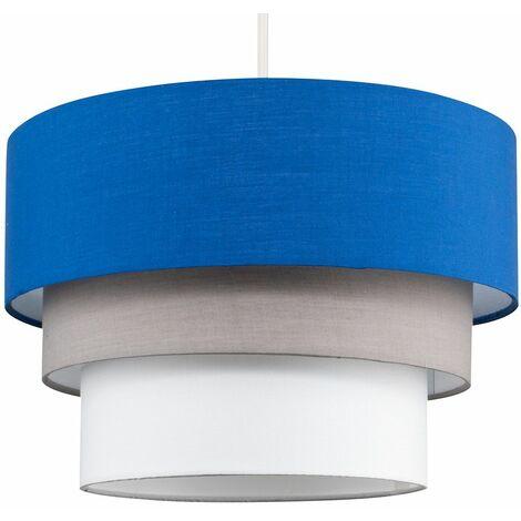 Aztec Ceiling Light Shade + Warm White LED Bulb