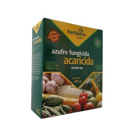 Azufre Fungicida Acaricida AZUMO-MG FERTIBERIA 200 gr