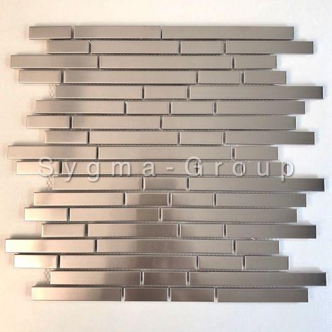 azulejo de acero inoxidable para cocina modelo NORKLI