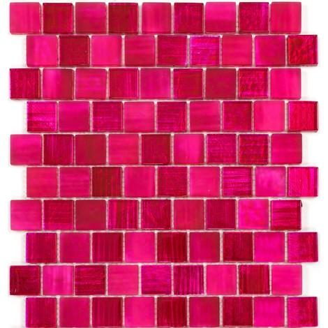 azulejo de vidrio pared de mosaico y suelo mv-drio-rose