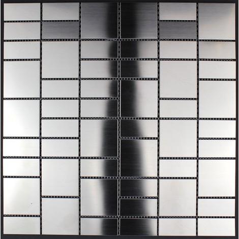 azulejo mosaico acero inoxidable cocina y baño mi-arg