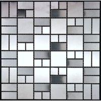azulejo mosaico acero inoxidable cocina y baño mi-lof