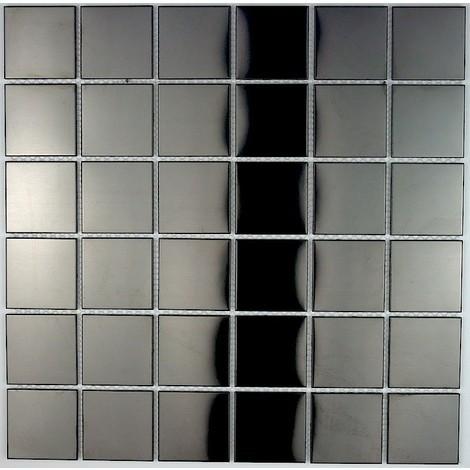 azulejo mosaico acero inoxidable cocina y baño mi-reg-noi