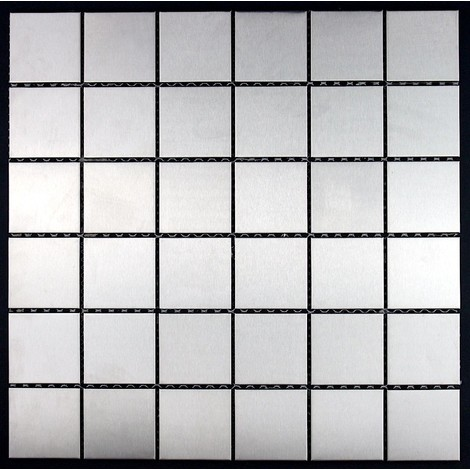 azulejo mosaico acero inoxidable cocina y baño mi-reg48