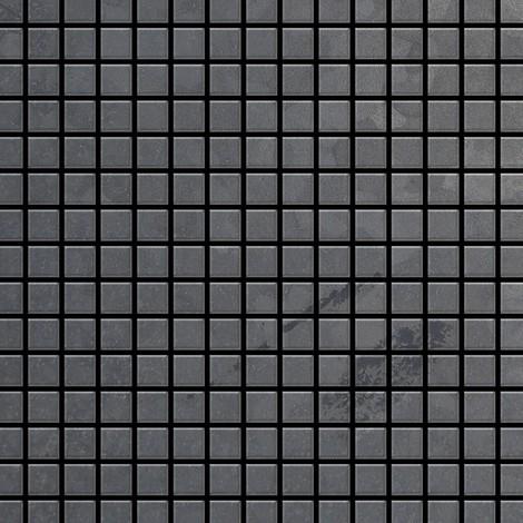 "main image of ""Azulejo mosaico de metal sólido Acero bruto laminado gris oscuro 1,6 mm de grosor ALLOY Mosaic-RS 1,04 m2"""