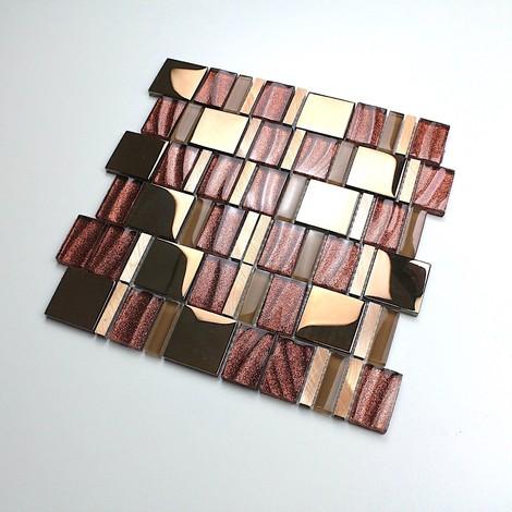 azulejos de mosaico cocina y baño mv-glit
