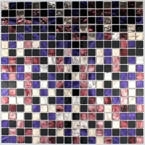 azulejos de mosaico cocina y baño mv-glo-pru