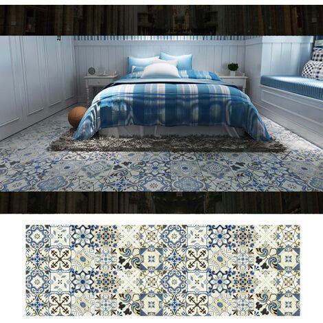 Azulejos pegatinas 1PC Retro Auto adhesivo impermeable de PVC desprendibles de la pared Las etiquetas engomadas DIY Fondos de Cocina Bano Casa Proteccion Ordenado, 7 #